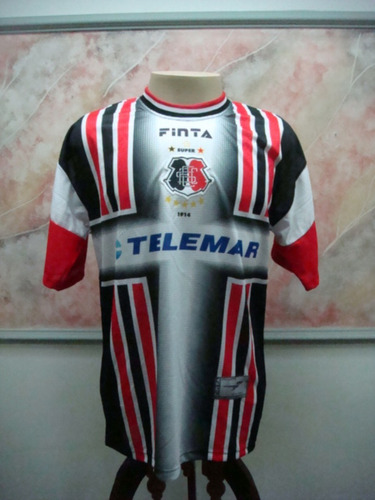 Camisa Futebol Santa Cruz Recife Pe Finta Jogo Antiga 1951