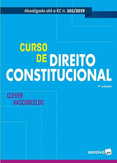 Curso De Direito Constitucional - Novo - 2020 - Lacrado