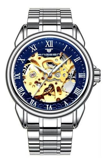 Relógios Bosck, Automático E A Corda,masculino,mecânico,