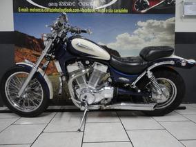 Suzuki Intruder 1400 Revizada Bateria Pneus E Pastilhas Nova