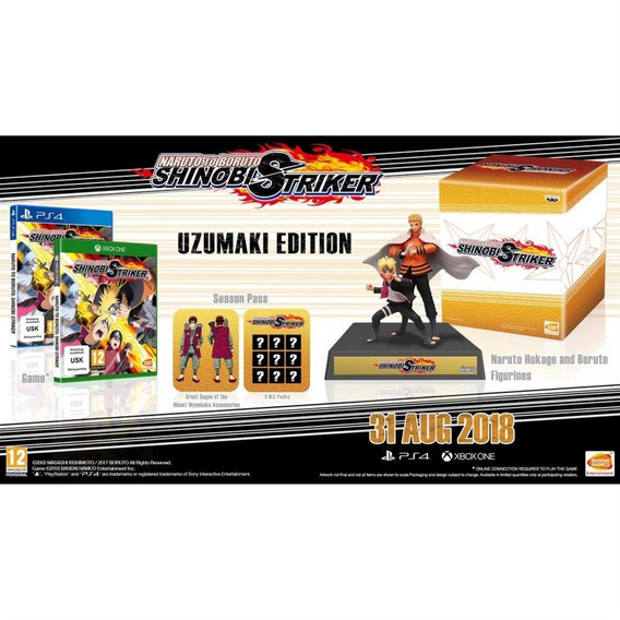 Naruto To Boruto Shinobi Striker Collectors Edition Ps4