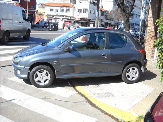 Peugeot 206 Xs Premium 2006 3 Ptas Naf 1.6 Gris Azul