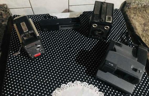 4 Antigas Câmeras Fotográficas