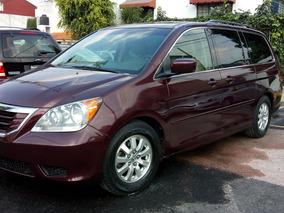 Honda Odyssey 2009 Exl Seminueva Unica Dueña Q/c Clima Elect