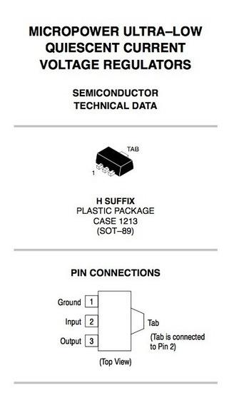Mc78fc33h/regulador 3,3v/carregador Bateria/ldo/smd/original