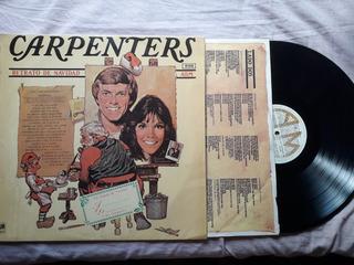 Disco Vinilo Carpenters, Retrato De Navidad.