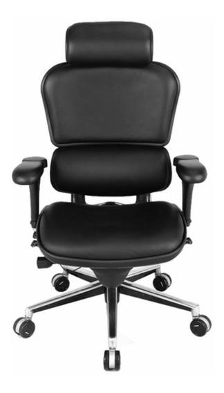 Cadeira Ergonômica Ergoman V1 Presidente Couro