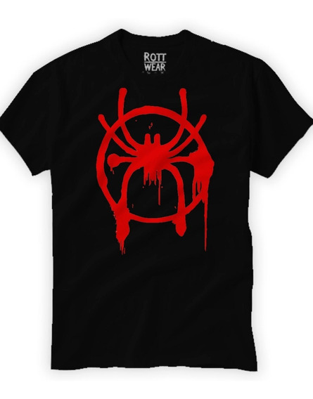 Spiderman Un Nuevo Universo Miles Morales Playera Rott Wear