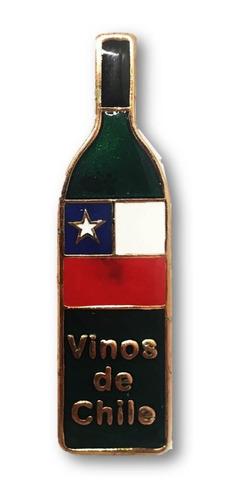 Magnético Vinos Chile Cobrizado