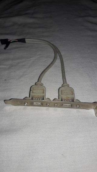 Placa Para Computador Com Entrada Usb Modelo Antigo..