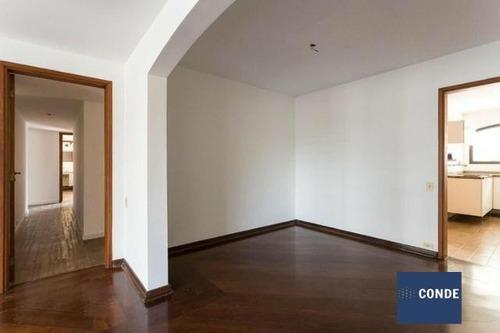 Imagem 1 de 15 de Apartamento Residencial À Venda, Moema, São Paulo, Com 4 Quartos - Ap23582