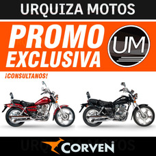 Moto Custom Chopper Corven Indiana 256 0km Urquiza Motos