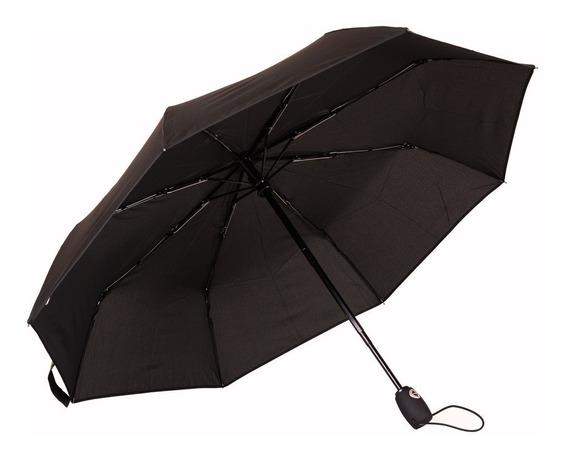 Paraguas Swisswin Abre Cierra Mgo Redondo Anti-viento!!