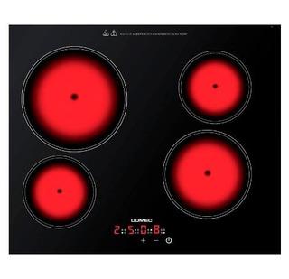 Anafe Electrico Domec Av46 Vitroceramico Tactil Selectogar