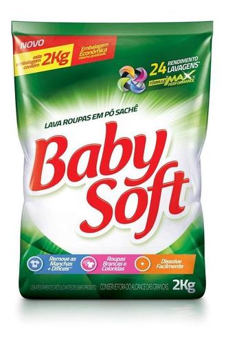 Lava Roupas Po Baby Soft 2kg - Sache