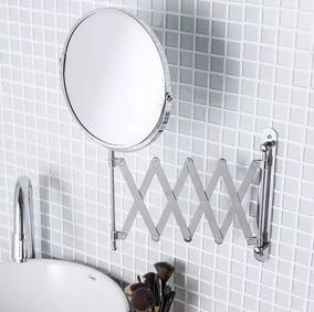 Espelho Maquiagem Articulado Metal Aumento 3x