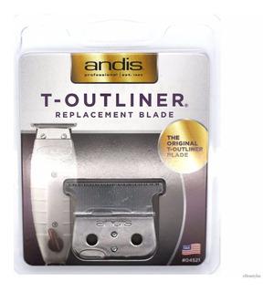 Lâmina Andis T-outliner Modelo 04521 Lacrado No Blister