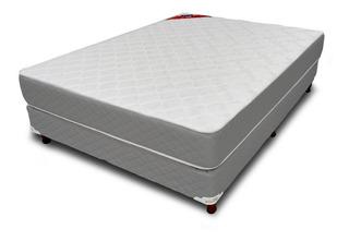 Sommier Piero Foam 2 plazas 190x140cm gris