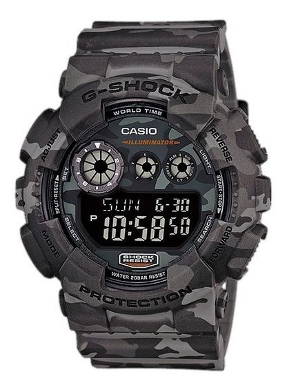 Relógio Casio G-shock Gd-120cm-8dr - Garantia Casio Brasil