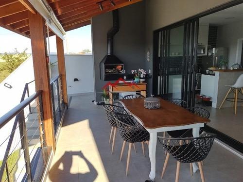 Imagem 1 de 22 de Casa A Venda Condomínio Terras De Jundiaí Vale Azul Jundiaí - Ca00437 - 69322138