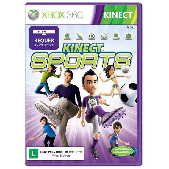 Kinect Sports Xbox 360 Jogo Original Completo Mídia Física