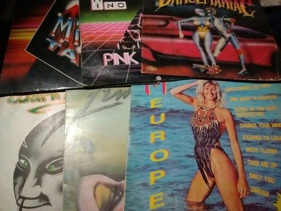 Gapul Lote Discos 6 Varios Italo Disco Mix Dance