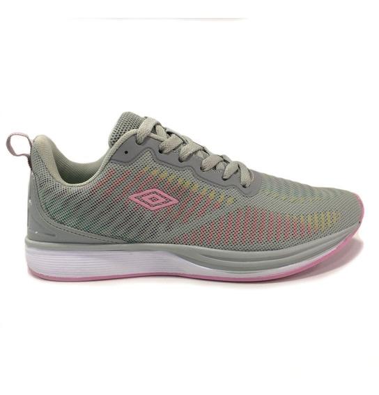 Zapatos Umbro Originales Para Damas - Um16781w - Ltgrey Pink