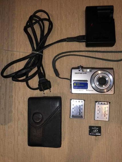 Câmera Fotográfica Digital Olympus 8.0 Megapixels