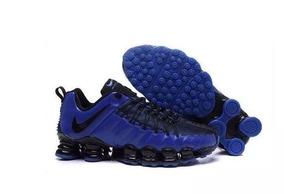 2ec6f67c013 Tenis Nike 12 Molas Barato - Nike para Masculino Azul escuro no ...