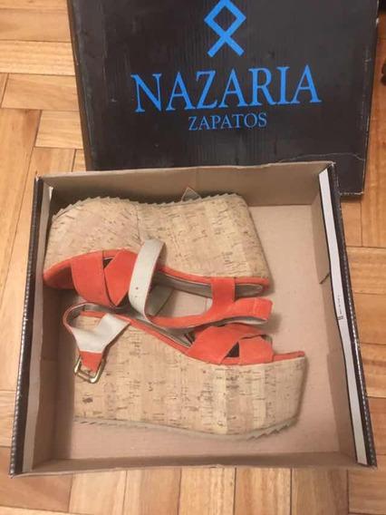 Sandalia Con Plataforma Nazaria
