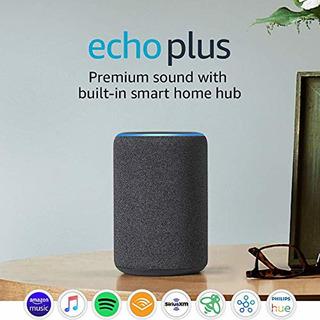 Soporte de pared Made for  para Echo Plus y Echo - Negro 3./ª generaci/ón 2./ª generaci/ón