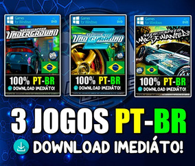 Need For Speed Underground 1 E 2 + Mw! Pc Mídia Digital!