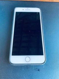 iPhone 7 Plus 256 Gb Prata Com Frente Branco,