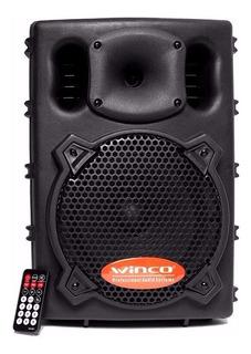 Parlante Potenciado Activo Bluetooth Bafle Winco W-210 400w