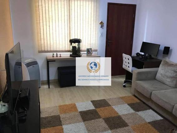 Apartamento Com 2 Dormitórios À Venda, 45 M² Por R$ 199.000,00 - Vila Industrial - Campinas/sp - Ap0646