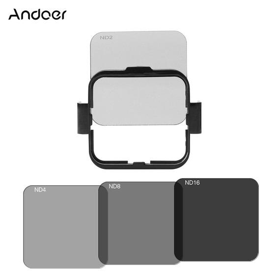 Andoer Pra?a Lens Filtro Protector Kit Set