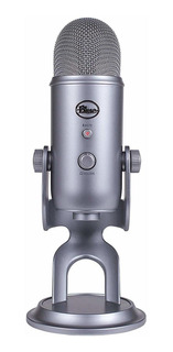 Micrófono Blue Yeti condensador space gray