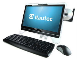 Computador All In One Itautec Infoway Amd Vision 4g Hd 160g