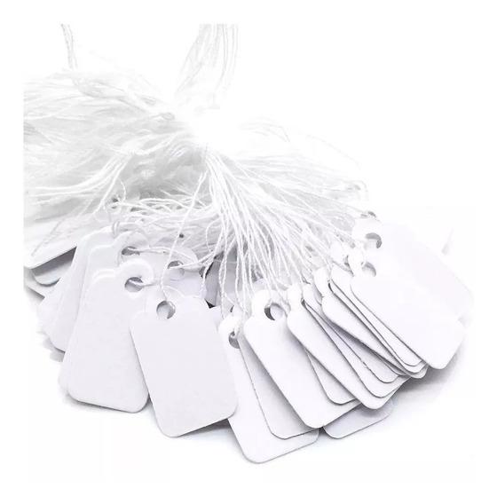 100 Etiqueta De Carton Con Cordon Para Colgar #97 Joyeria
