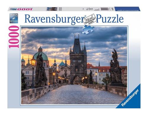 Rompecabezas 1000 Piezas Ravensburger Puente De Carlos Praga