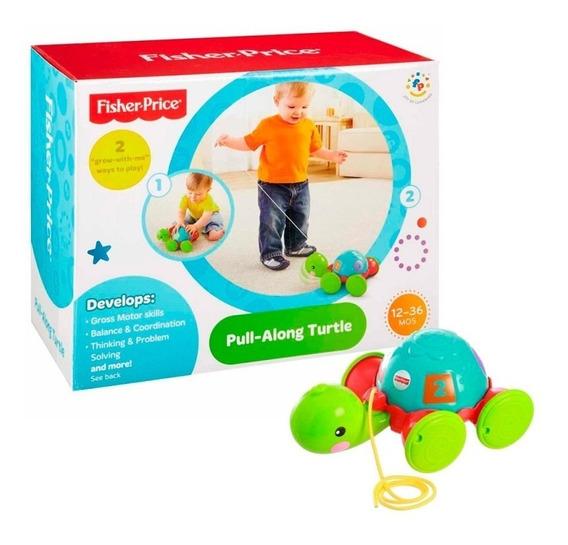 Fisher Price Empurra Tartaruga - Y8652 Mattel