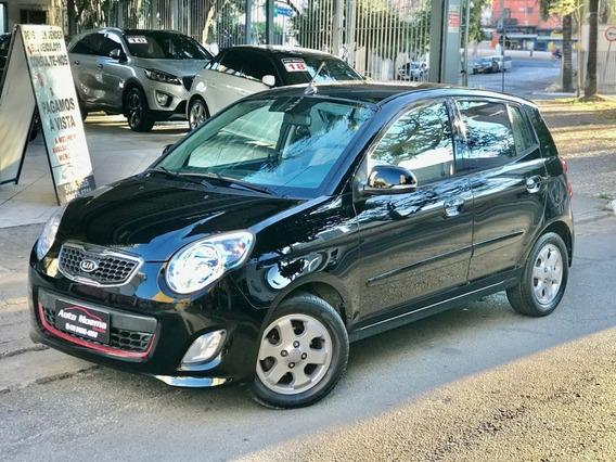 Picanto Ex3 2011 Aut Preto Com Apenas 57.975 Km Rodados !!!