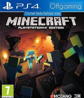 Minecraft Ps4 - Oferta 2º - Offgaming