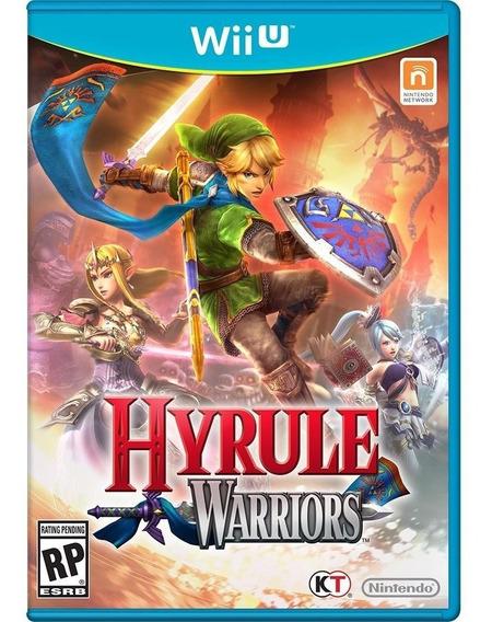 Jogo Midia Fisica Lacrado Hyrule Warriors Pra Nintendo Wii U