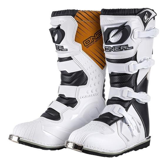Botas Moto Oneal Rider Enduro/motocross White