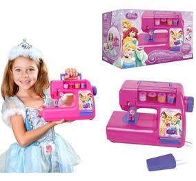 Maquina De Costura Infantil Brinquedo Princesas Disney Br026