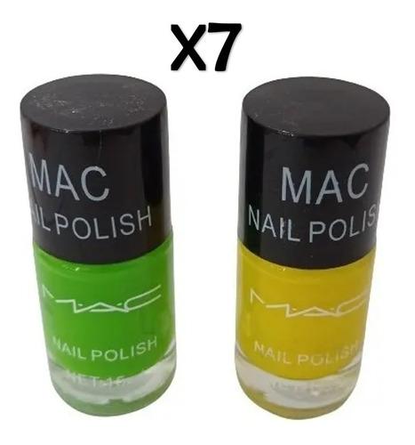 Pintura Uña Mac Maquillaje Chacao