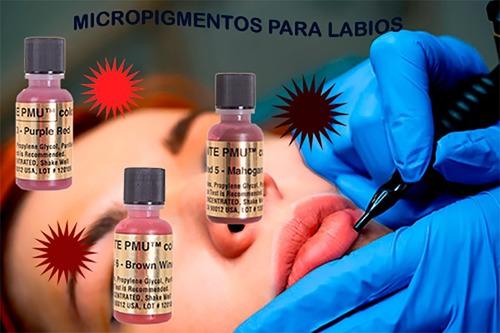 Micropigmentos Kp Dife. Tonos - mL a $4000