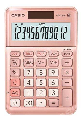 Calculadora De Escritorio Casio Ms-120fm