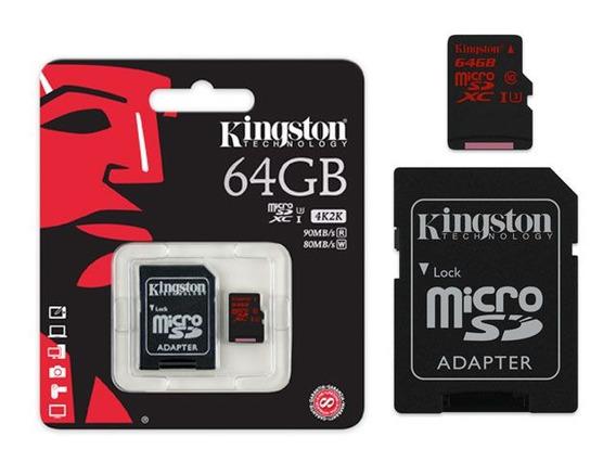 Cartão De Memória 64gb Alto Desempenho Ideal Filmagem 4k